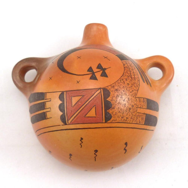 Hopi Canteen, Gloria Kahe, Pottery, Garland's Indian Jewelry