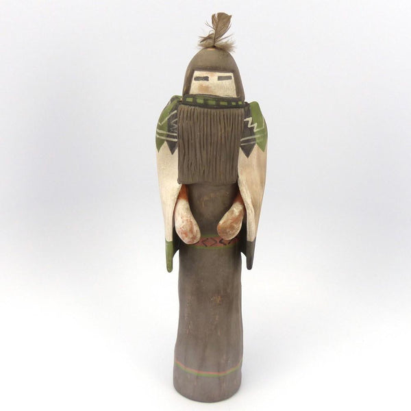 Longhair Pottery Sculpture, Michael Kanteena, Pottery, Garland's Indian Jewelry