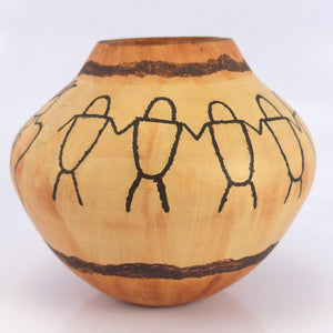 """Family"" Pot - Pottery - Lawrence Namoki - 1"
