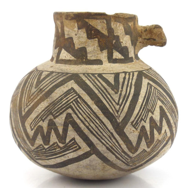 Prehistoric Effigy Pot, Vintage Collection, Pottery, Garland's Indian Jewelry
