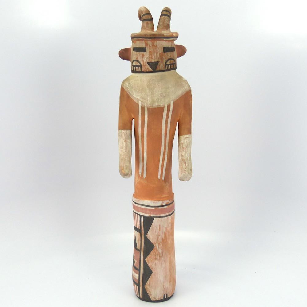 Germinator Kachina Pottery Sculpture, Michael Kanteena, Jewelry, Garland's Indian Jewelry