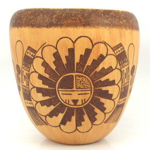 Lawrence Namoki Hopi Pot at Garland's Jewelry