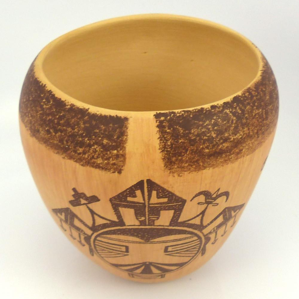 Tewa Pot, Lawrence Namoki, Pottery, Garland's Indian Jewelry