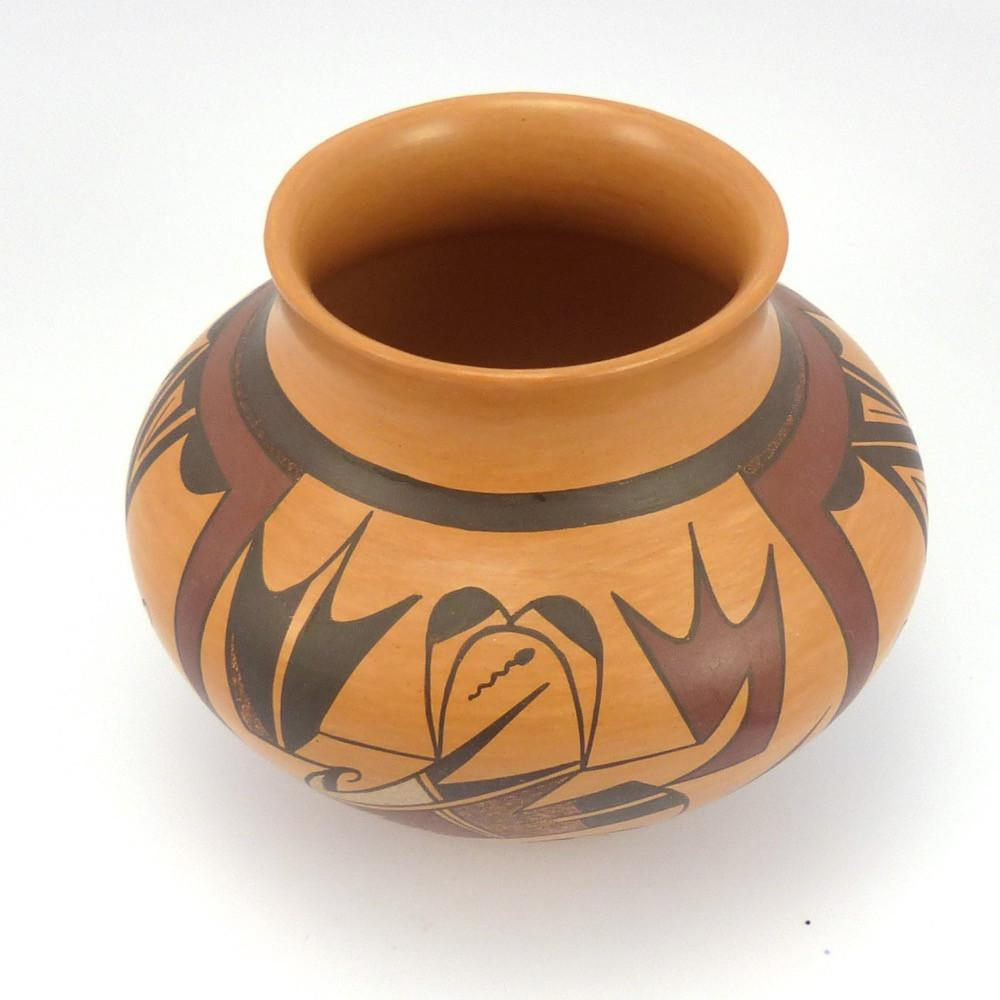 Hopi Frog Jar, Charles Navasie, Pottery, Garland's Indian Jewelry