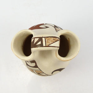 White Slip Hopi Wedding Vase