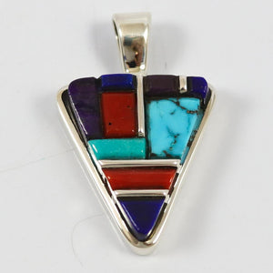 Cobbled Inlay Pendant
