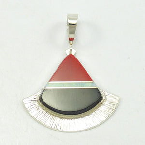 Gold and Silver Pendant