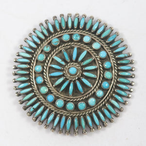 1960s Turquoise Pin