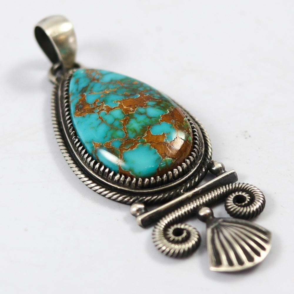 Easter Blue Turquoise Pendant