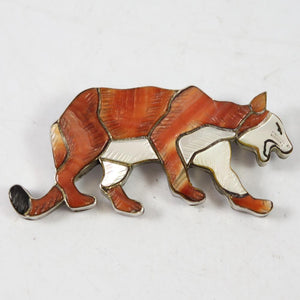 1960s Lion Pin and Pendant