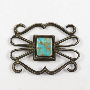 1930s Turquoise Pin