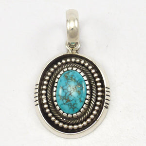 Morenci Turquoise Pendant
