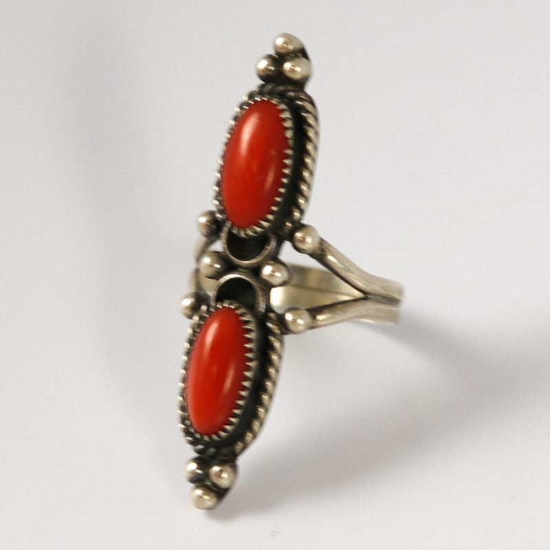 1970s Coral Ring