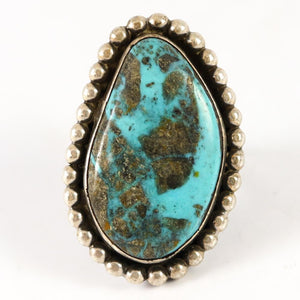 1970s Turquoise Ring