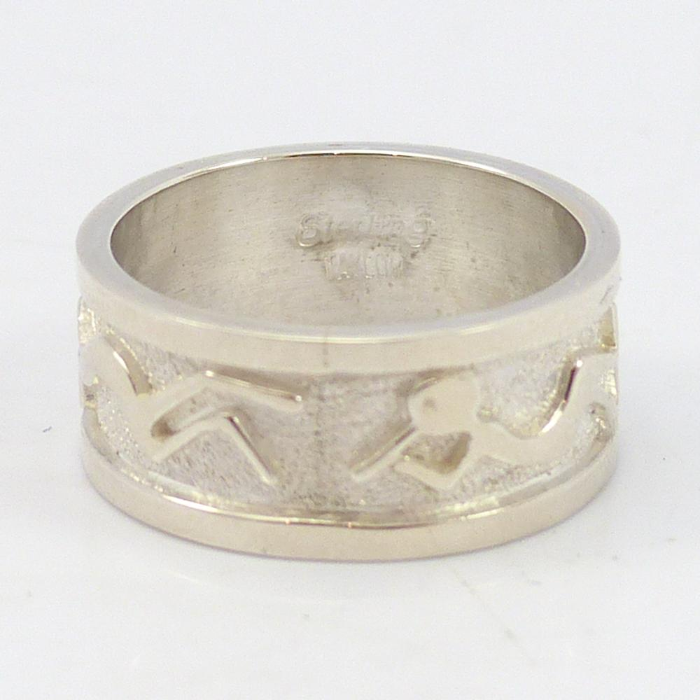 Navajo Flute Player Ring