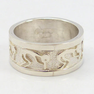 Flute Player Ring
