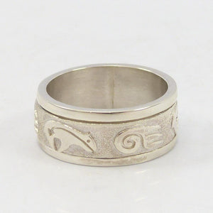 Bear Spinner Ring