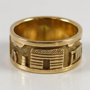Gold Storyteller Ring