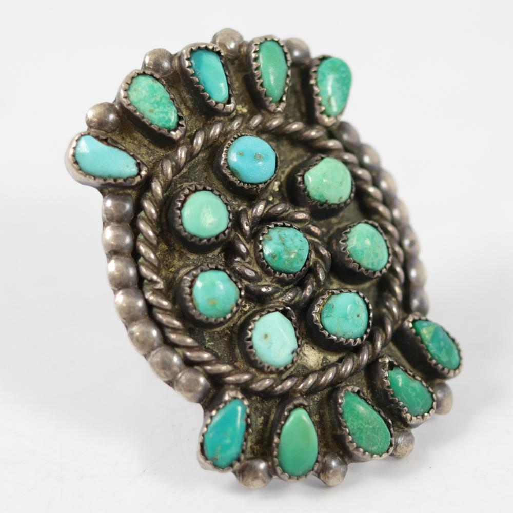 1940s Turquoise Ring
