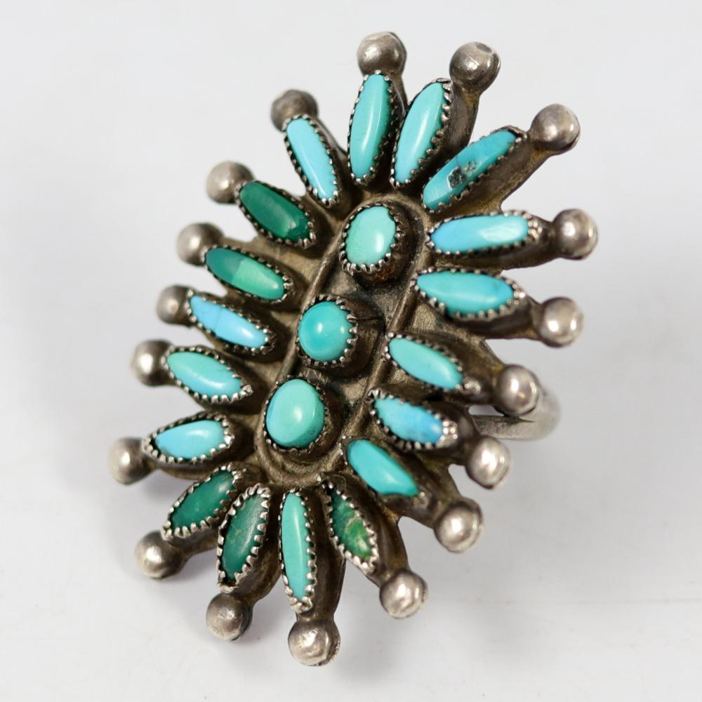1950s Turquoise Ring
