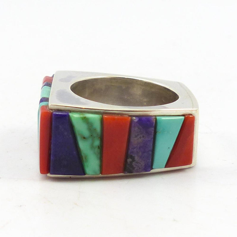Multi-Stone Inlay Ring
