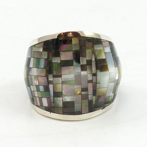Inlaid Shell Ring
