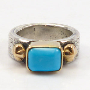 Castle Dome Turquoise Ring