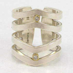 Strata Diamond Ring