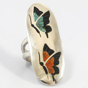 Butterfly Inlay Ring