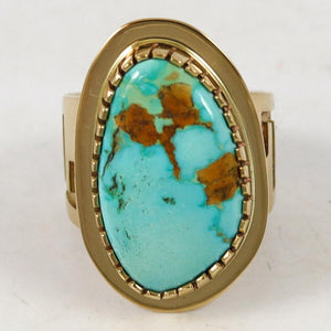 Turquoise Mountain Gold Ring