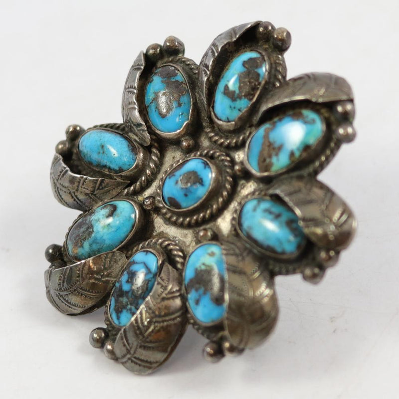 1970s Persian Turquoise Ring