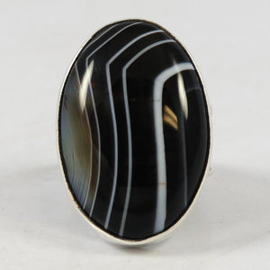 Banded Onyx Ring