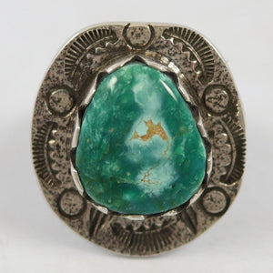 Misty Blue Turquoise Ring