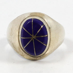Lapis Inlay Ring