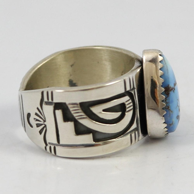 Golden Hills Turquoise Ring
