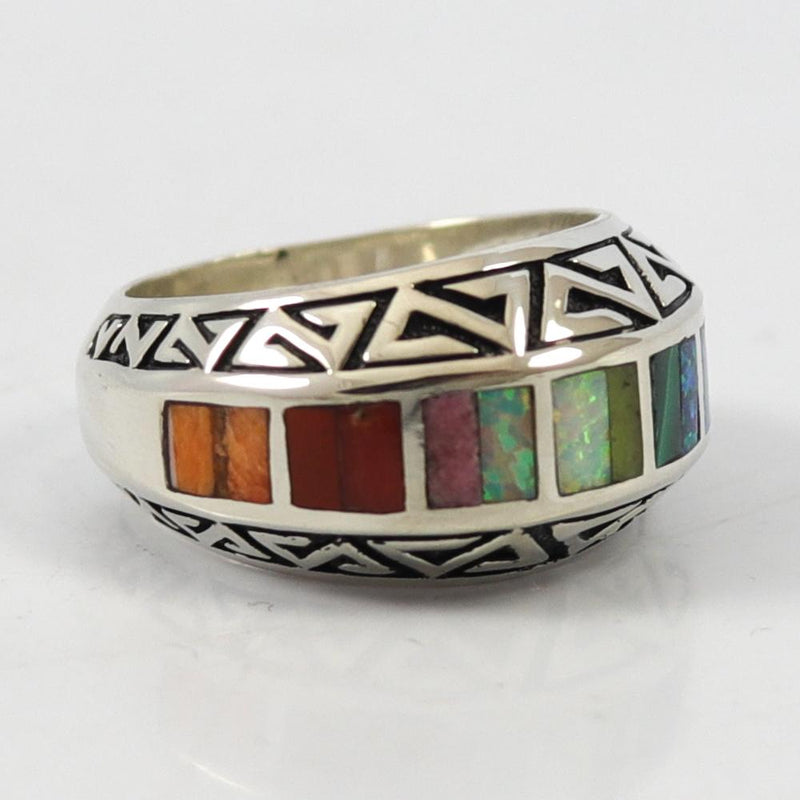 Rainbow Inlay Ring