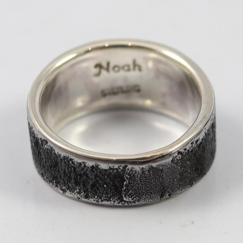 Steel and Silver Ring