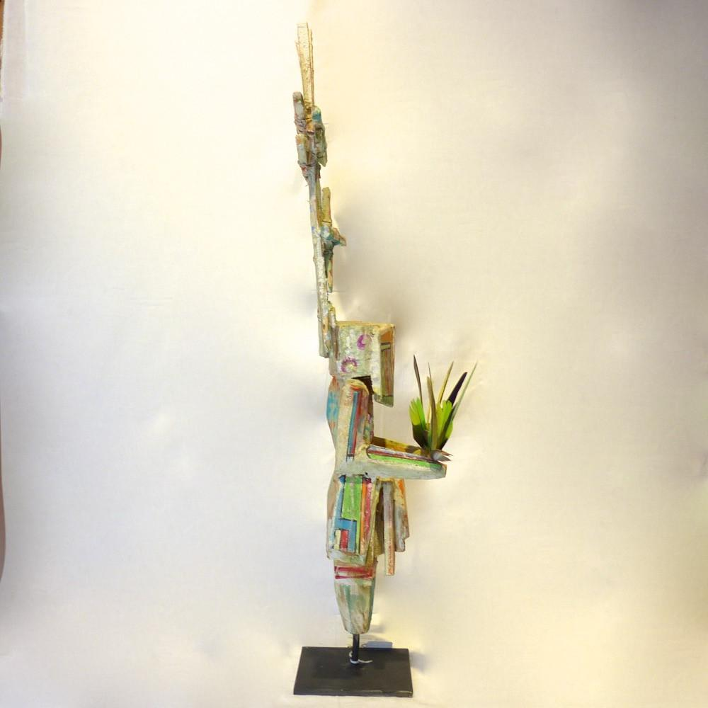 Spirit Being Sculpture, Sheldon Harvey, More, Garland's Indian Jewelry