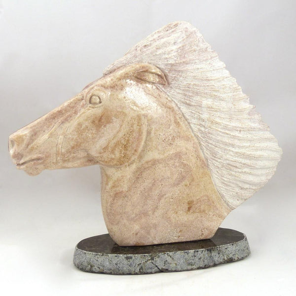 Alabaster Horse Sculpture, Mike Toledo, More, Garland's Indian Jewelry