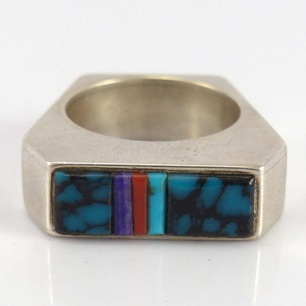 Inlay Ring - Jewelry - Boyd Tsosie - 1