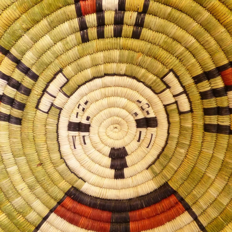 Hopi Coil Plaque - Baskets - Beatrice Dawahoya - 3