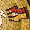 Hopi Coil Plaque - Baskets - Beatrice Dawahoya - 7