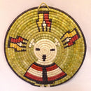Hopi Coil Plaque - Baskets - Beatrice Dawahoya - 2