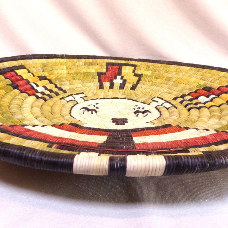 Hopi Coil Plaque - Baskets - Beatrice Dawahoya - 8