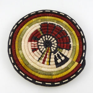 Hopi Coil Plaque - Baskets - Petra Lamson