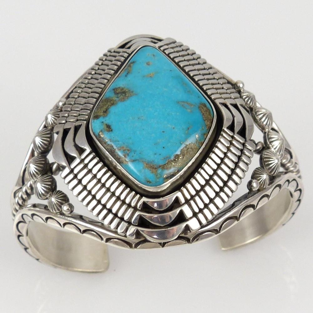 Morenci Turquoise Cuff - Jewelry - Toby Henderson - 1