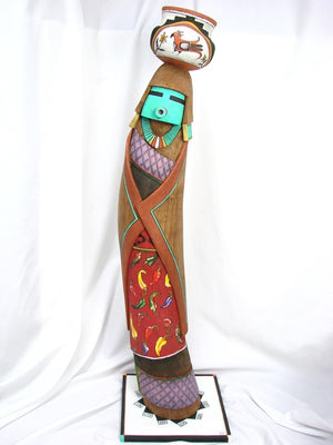 Laguna Pot Carrier Kachina - Kachinas - Jacob Warner - 1