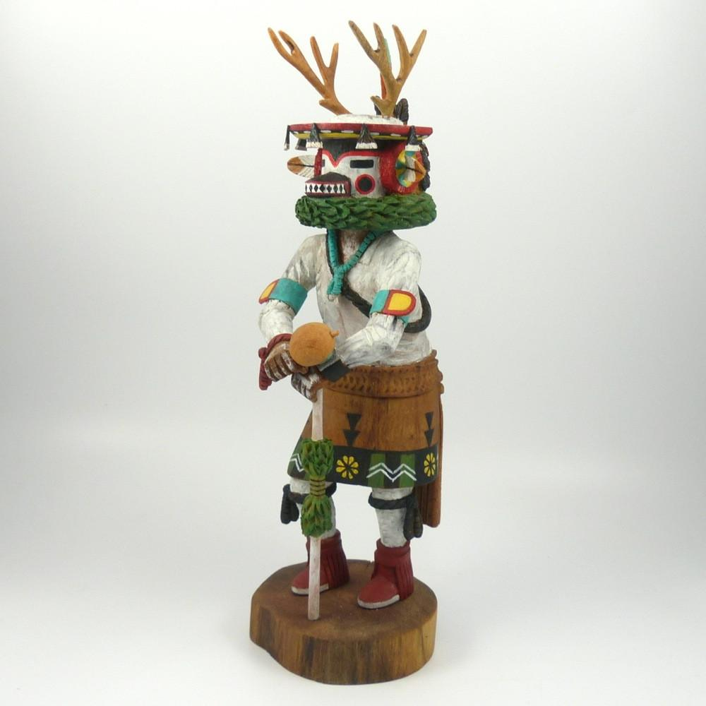 Deer Dancer (Sowi-ingwa) Kachina - Kachinas - Ron Chimerica - 1