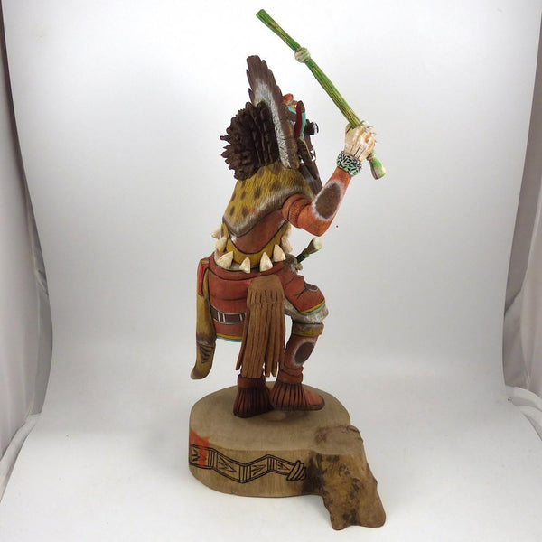 Broadface Whipper Kachina By Coolidge Roy Jr Garland S