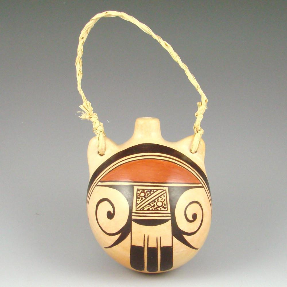 Medium Canteen with Hopi Designs - Pottery - Rachel Sahmie